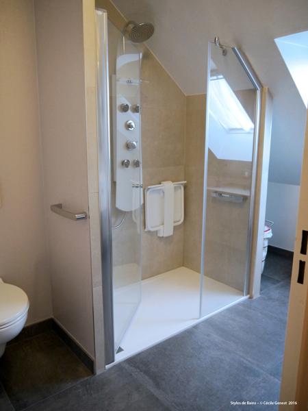 salle de bain rennes nos realisations decouvrez nos salles With porte de douche coulissante avec renovation salle de bain rennes