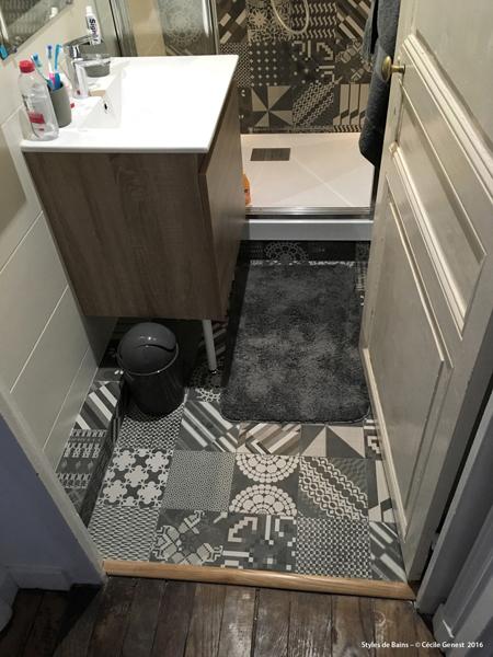 renover salle de bain carrelage gallery of rnovation duune salle de bains with renover salle de. Black Bedroom Furniture Sets. Home Design Ideas