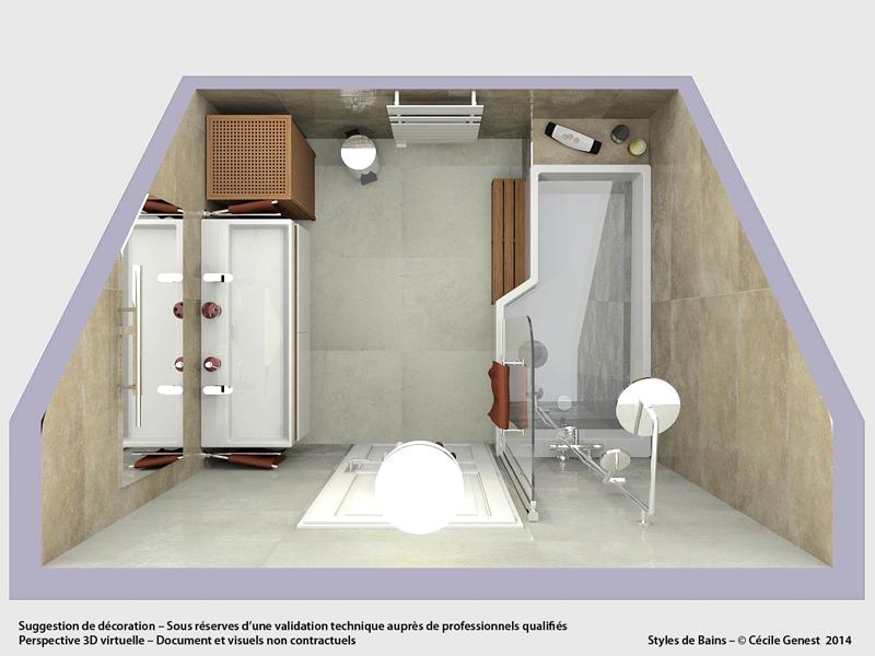 Salle de bain rennes 47 argenteuil for Renovation salle de bain rennes