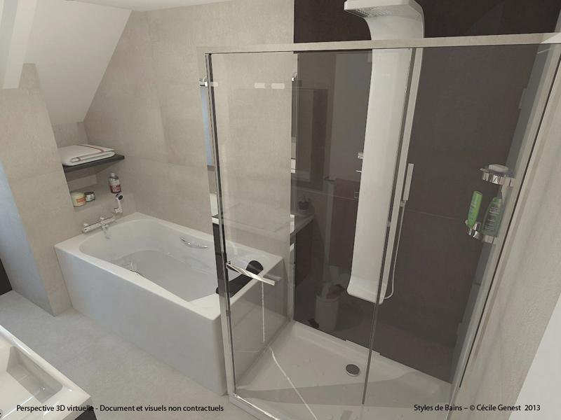 Salle de bain rennes conception 3d nous vous accompagnons dans votre projet de salle de bain de for Projet salle de bain