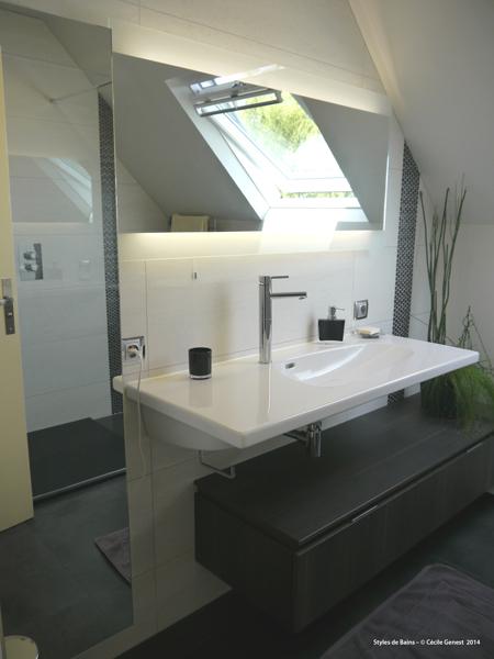 Salle de bain rennes nos realisations en r novation et cr ation neuve sur rennes et ille et - Travaux salle de bain ...