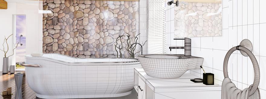 salle de bain rennes nos tarifs pour l 39 tude domicile et la simulation en 3d de 2 concepts d. Black Bedroom Furniture Sets. Home Design Ideas
